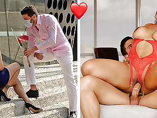 Valentine's Day Fuck With A Mexican Teen With A Big Booty