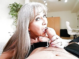 Hot Granny Leilani Lei Rewards Stud For Hard Work