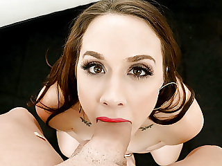 FirstClassPOV - Stunning Chanel Preston sucks a big hard dick