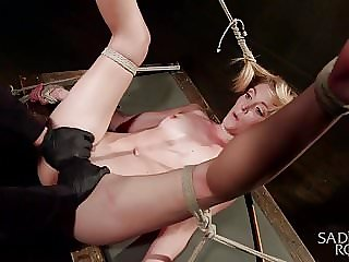Mona Wales tied up and Tormented