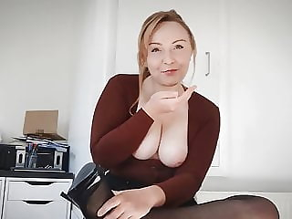 Slut English Teacher Wants Your Young Cock - Shannon Heels