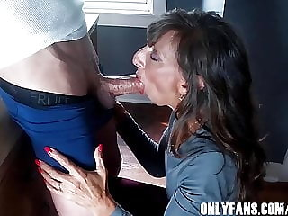 Sexy Milf Marie Loving Shadow's Fat Cock