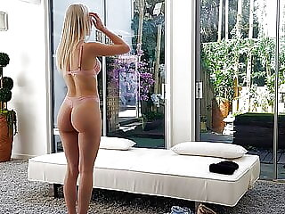 Hot Blonde Wanted It So Badly, She Cheated On Her Man
