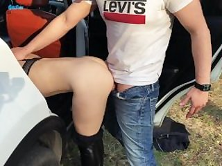 Lover took to the forest and fucked