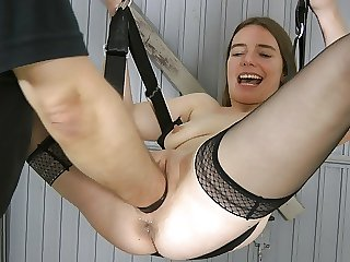 Fisting and Pussy Stretching with Karina