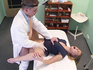 A little massage before fucking