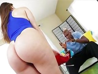 Alexis gets her tight cum bucket makes love hard