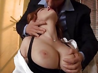 Redhead Broad gets Fuck pole at Office