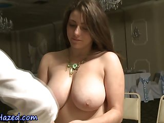 Teen slut with big tits