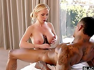 Nikki Benz Hot Interracial Titjob