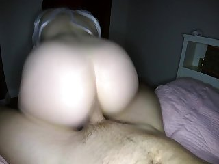Cheating with Friends Husband - Skimask POV Blowjob & Reverse Cowgirl