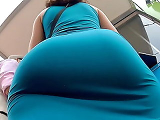Sexi,Big Booty Blue Skirt