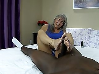 Size 7 Feet Vs Big Black Dick TRAILER