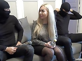 Masked Freaks Fuck Hot Blondie