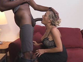 Every milfs fantasy is a big fat black cock ofcourse!