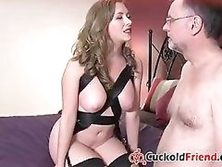 Wife Slaved her Husband for Bisex