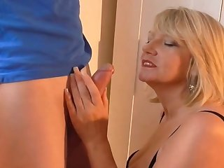 British milf fucks her new lover part 1