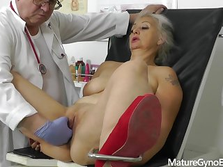 Perverted gyno doctor secretly records a gyno exam of another unaware woman