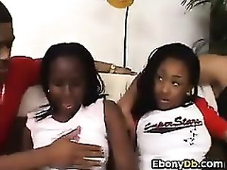Amateur Black Foursome