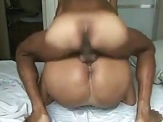 naughty busty brazilian gf with big ass getting anal fucked