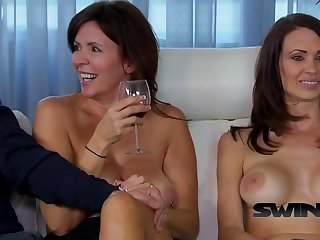 American swinger couple ready to trade their partneR