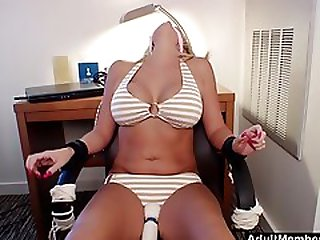 She Cant Escape And Has To Cum