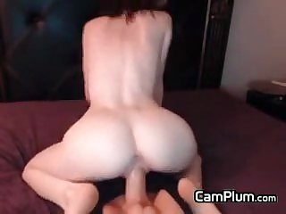 Teen Riding Her Toy
