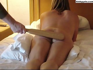 ater such a spanking it is difficult to sit