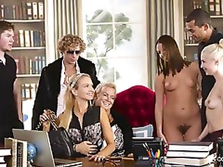 Breathtaking Group Sex Party