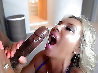 Horny MILF Housewife Gets Drilled And Swallows A BBC