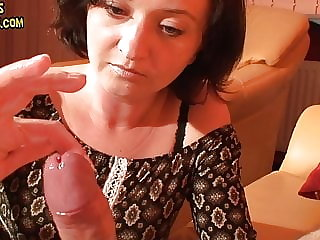 Long edging wit a lot of precum and huge cumshot
