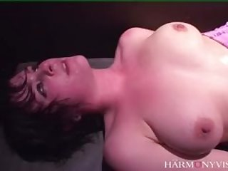 Dirty slut Anal Threesome in a chest