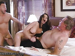 FantasyMassage Hubby Caught me Fucking my Stepson...