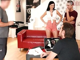 VIPSEXVAULT - Busty MILF Jasmine Jae Fucked Hard By Two Guys At Casting