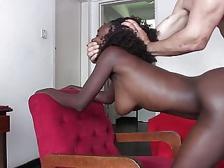 Wrecking That Black Amateur Pussy