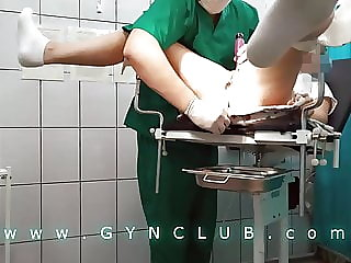Orgasm therapy on gyno chair