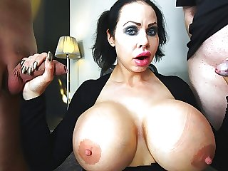 Swedish Sanna fucks some big cocks