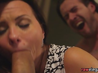 DP banged eurobabe gets jizzcovered