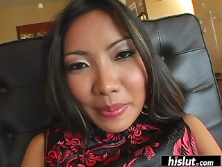 asian bombshell knows how to fuck properly segment