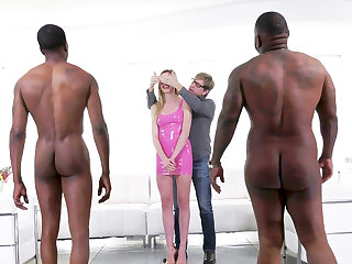 Cuckold Husband Watches Anny Aurora Does Anal With Big Black Dicks