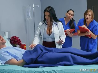 Markus Dupree fucked sexy doctor Angela White in the hospital