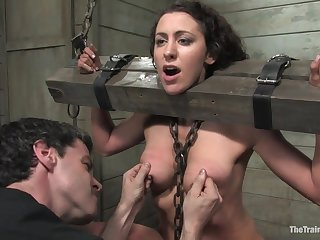 The Training of O - 5242 Princessdonna BDSM Slave Train - bondage