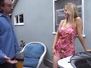 UK Blonde Milf Fucks the Repairman - GJ