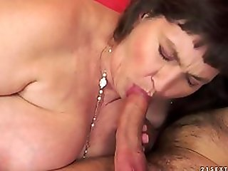 Alluring Fat Experienced Lady Performing In Amazing Creampie Porn Video