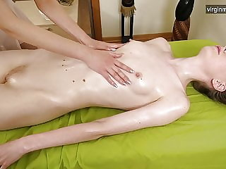 First pussy massage for dominatrix